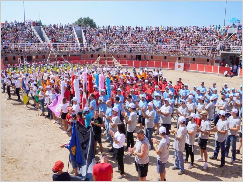 Apresentação das equipas das freguesias no Festival «Ó Forcão Rapazes» no Soito