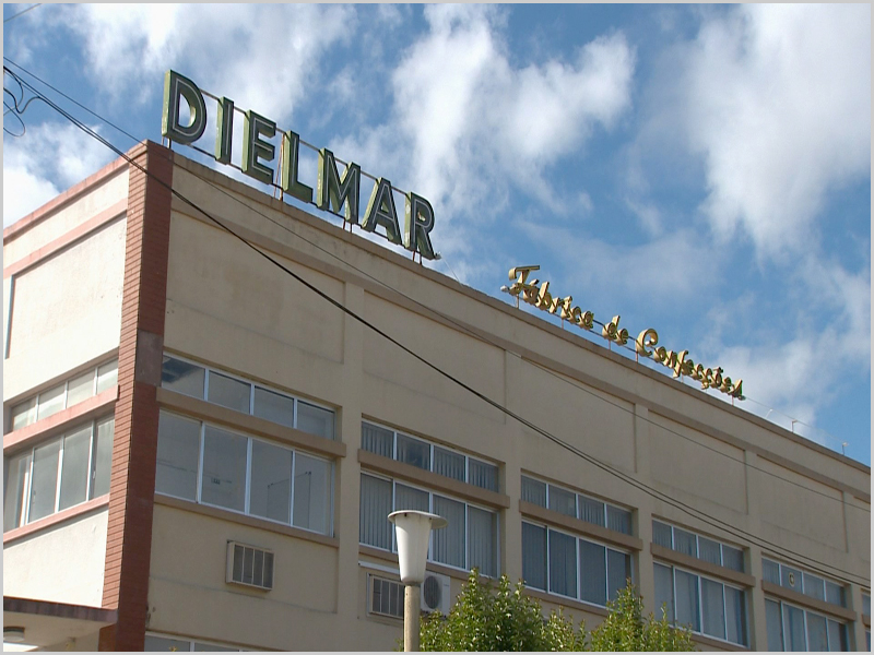 Fábrica de confecções Dielmar em Alcains, Castelo Branco