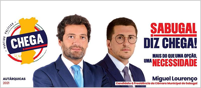 Miguel Lourenço é o candidato do Chega à Câmara Municipal do Sabugal
