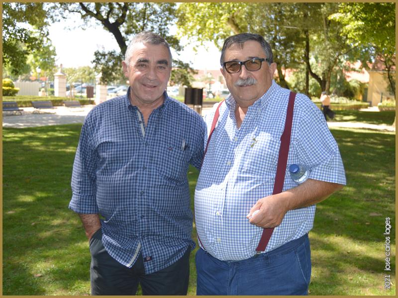 Antoine Tavares (TrutalCôa) e José Dias (Taberna Típica Quarta Feira) em Mafra