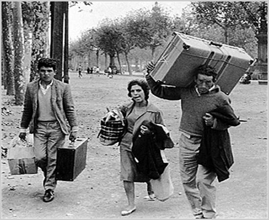 Na segunda etapa o emigrante leva a mulher mas os filhos ficam com os avós