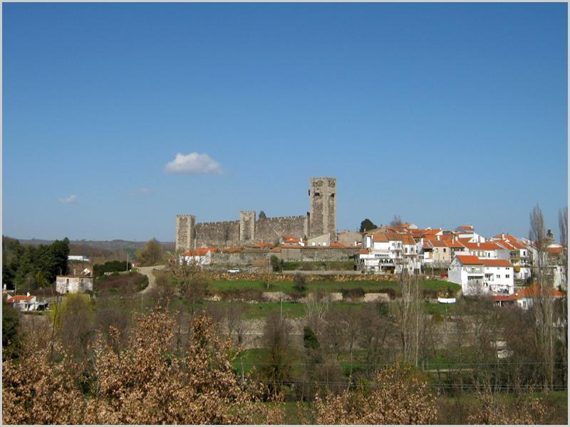 Castelo e casario do Sabugal
