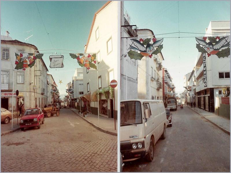 Em 1986 a Rua do Jornal do Fundão, teve pela primeira vez, iluminações de Natal