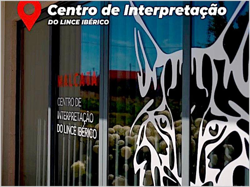Entrada do Centro Interpretação do Lince Ibérico em Malcata