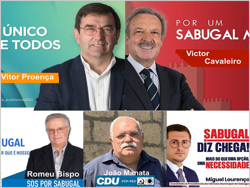 Candidatos às eleições autárquicas 2021 no concelho do Sabugal
