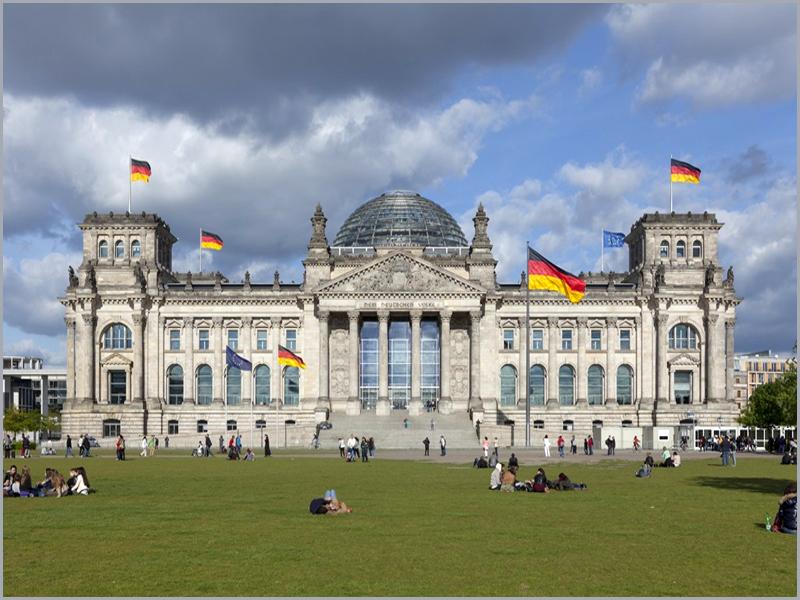 O Deutscher Bundestag é o Parlamento Federal da  Alemanha