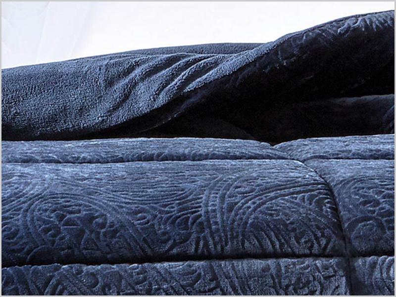 O cobertor «lindo» tocou-me a mim