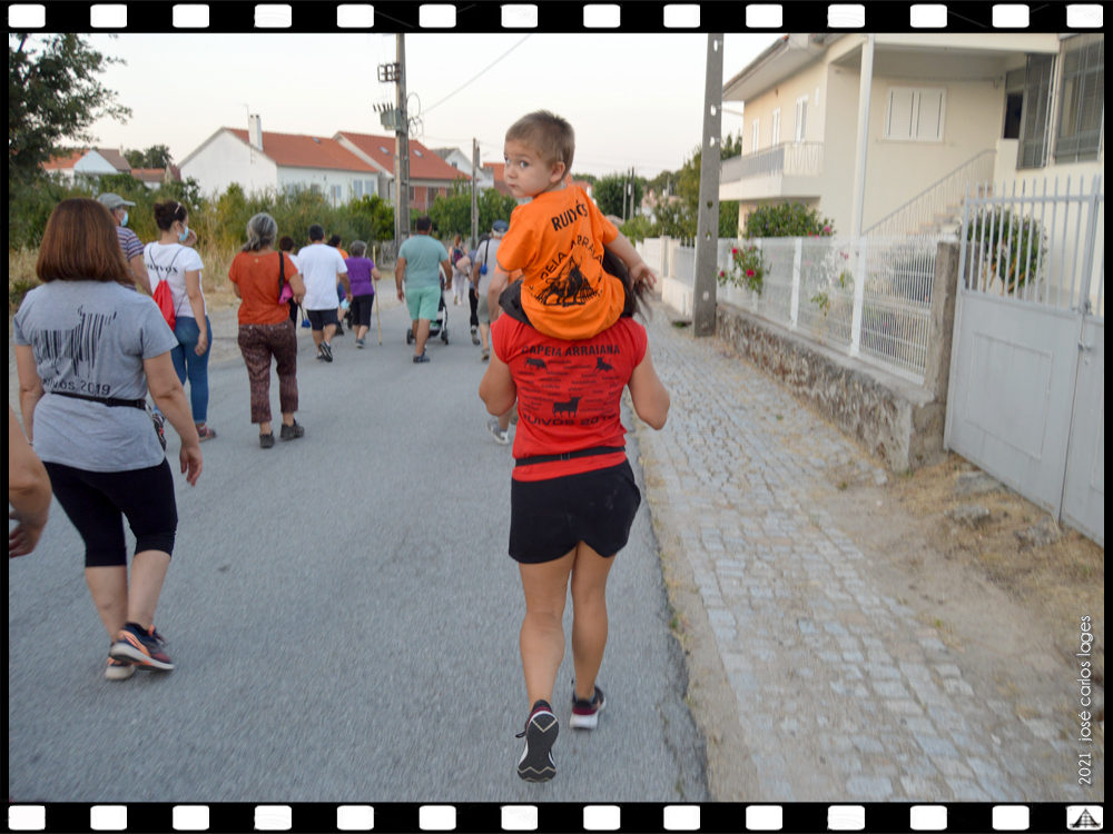 Caminhada da Associação dos Amigos de Ruivós em Agosto de 2021