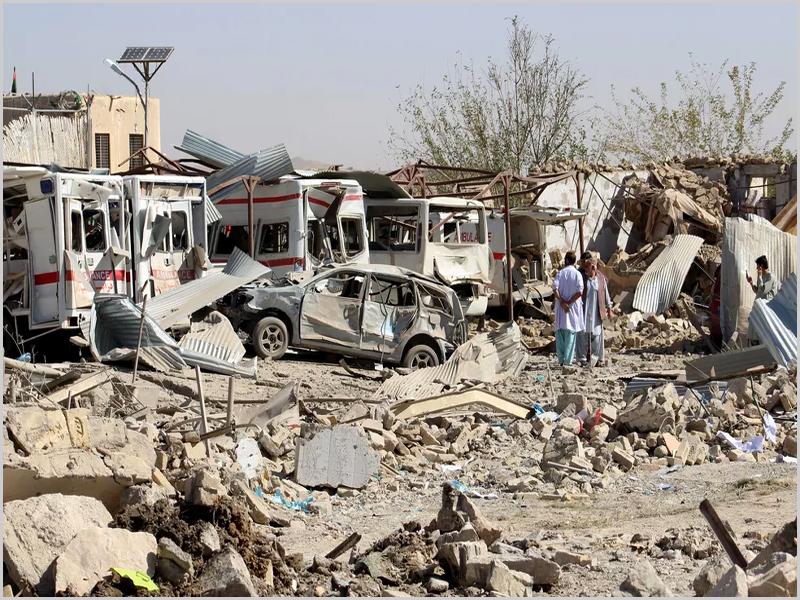 O terrível dia-a-dia noticioso do Afeganistão