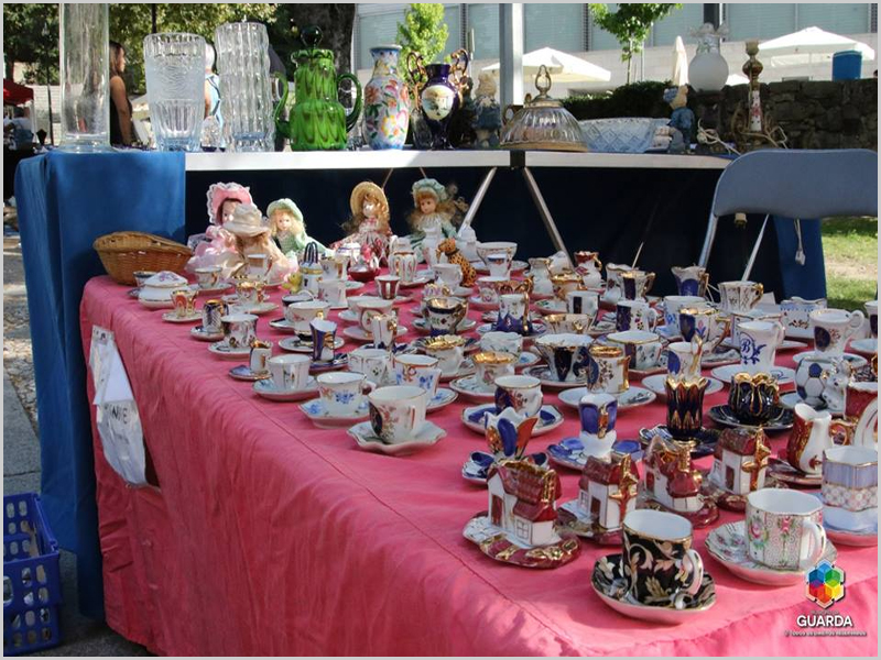 Feira de Antiguidades e Coleccionismo na Guarda (Foto: ''Beira)