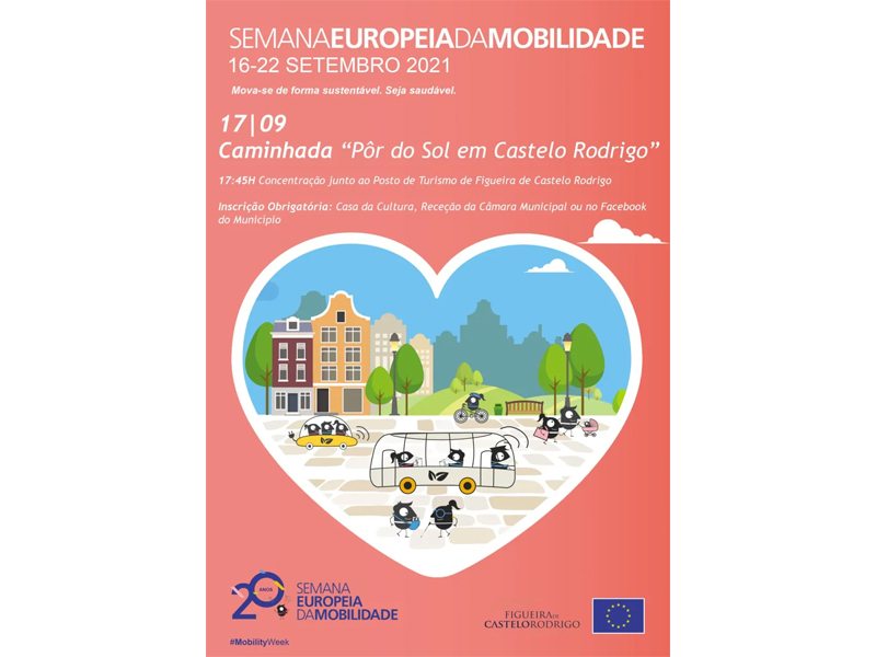 Semana Europeia da Mobilidade em Castelo Rodrigo