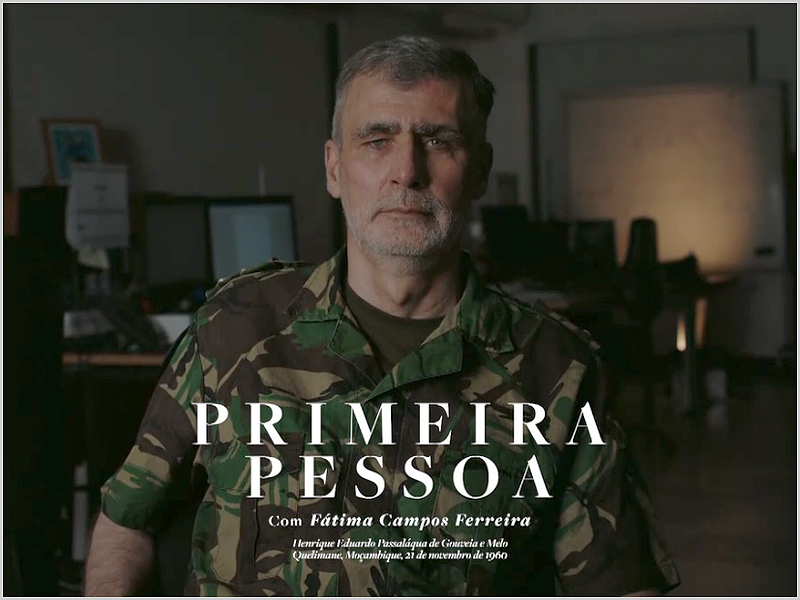 «Primeira Pessoa» com vice-almirante Gouveia e Melo