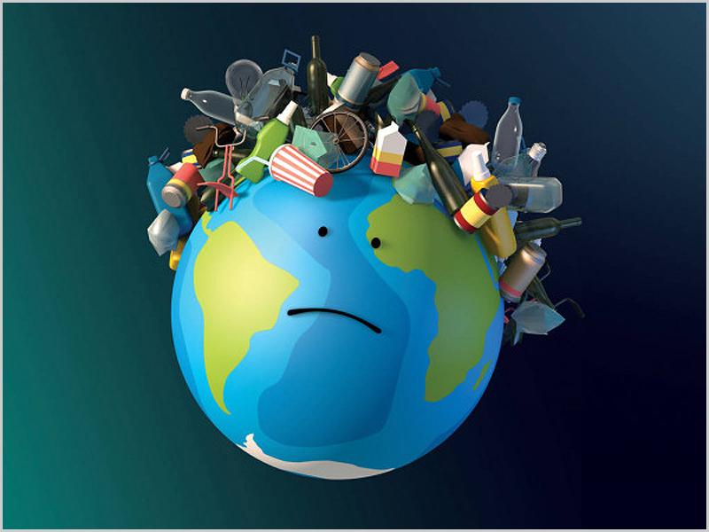O nosso planeta tem sido um autêntico caixote de lixo!