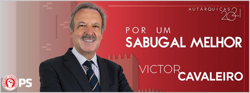 Victor Cavaleiro - candidato do Partido Socialista à Câmara Municipal do Sabugal