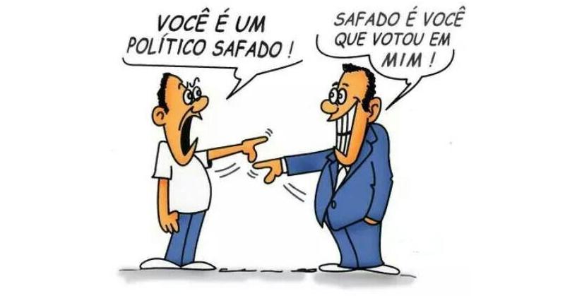 Política - eleitores e eleitos