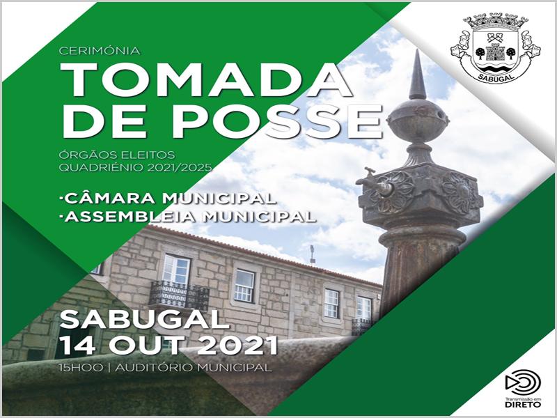 Tomada de posse dos eleitos para a Câmara Municipal do Sabugal