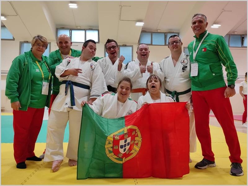 Comitiva portuguesa