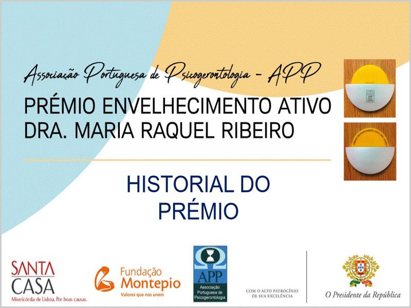 Prémio Envelhecimento Activo - Maria Máxima Vaz