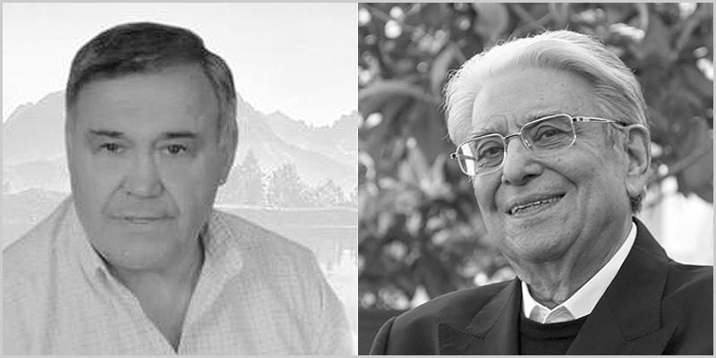 Luís Alberto Baptista e Padre Vítor Feytor Pinto