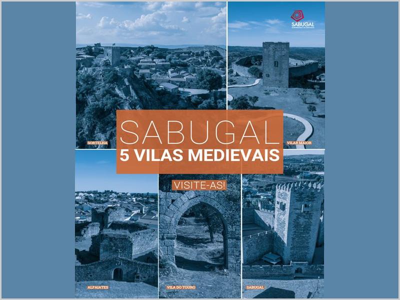 Sabugal – cinco vilas medievais – cinco castelos